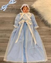 فستان استقبال مولود للبيع جديد