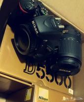 كاميرا نيكون d5500 عدسة 18-140
