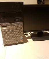 للبيع كمبيوتر مكتبي   i7  core DELL
