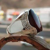افخم خواتم الفضه بالاحجار النادره