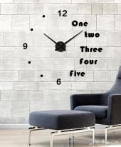 ساعات حائط 3D اشكال جديده ومميزه