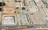 أرض تجارية إدارية منطقة أبراج على 4 شوارع_جدة