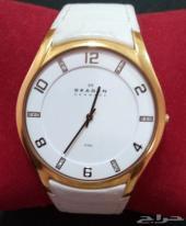 ساعة يد رجالي وتصلح نسائي مطلية ذهب  مميزه