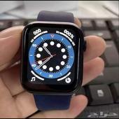 ساعة شبيهة ابل سمارت Hw12 اصدار 6 شاشة كامله