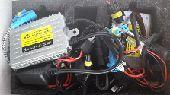 اجهزة زنون 55واط مع اللمبات H4  180 ريال