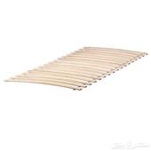 سرير ايكيا خشبي جديد للبيع