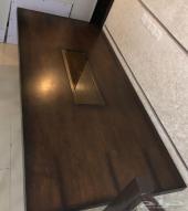 طاولة طعام خشب مع الكراسي