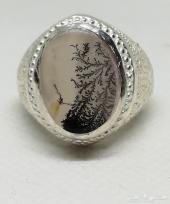 خاتم يمني شجري نادر