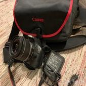 كاميرا كانون 550d مع كامل المللحقات
