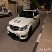 للبيع مرسيدس C63 لوحات دبي