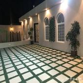 للإيجار شاليه حي الخير شمال الرياض 500ريال