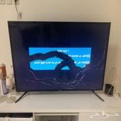 تلفزيون سامسونج مكسور الشاشة للبيع بأعلى سومه