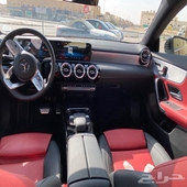 مرسيدس CLA 250 AMG Kit اسود داخل احمر