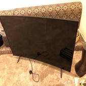تلفزيون 55 بوصه سامسونج جديد ولكن الشاشة الداخلية مكسورة
