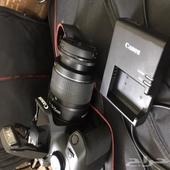 كاميرا كانون  شبه جديدة استخدام شخصي وبسيط جدا لايذكر