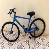 دراجة Upland هجين شبه جديده