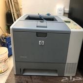 طابعة HP ليزر حجم كبير بحالة جيدة