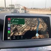برمجة وتفعيل جميع خصائص CarPlay BMW خرائط حديثه 2020