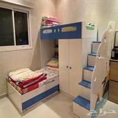 غرفة نوم اطفال و غرفة ضيوف