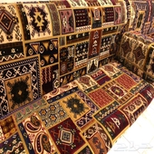 جلسة عربية مكونه من قطعتين 3 متر