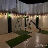 استراحه قسمين للايجار السنوي في حمراء الاسد