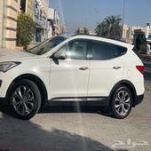 سنتافي 2013  سيارات 2013 لون أبيض سبعة ركاب دبل ستة سلندر م