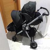 عربة اطفال مع كار سيت amp  Stroller amp Baby car Car seat