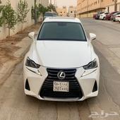 لكزس is350 سعودي 2018 على الضمان