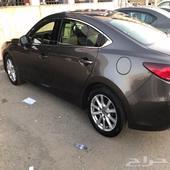 مازدا. 6. استاندر. البدي وكاله الصدام الامامي مرشوش