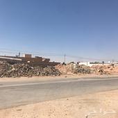 ارض تجارية للبيع حي الرمال