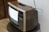 ثلاثة تلفزيونات قديمه