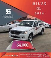 هايلكس 2014 غماره GL أصفار سعودى