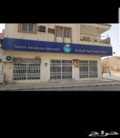 للإيجار مكتب الخطوط السعودية بالرس سابقا