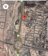 ارض تجاريه في جبل عير شارع العرباض واجهتين