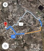 أرض للبيع حي الصحافه مساحة825 بصك