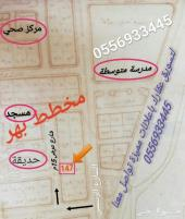 للبيع قطعتين سكنية مدينة الباحة