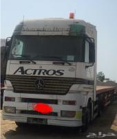 للتنازل سائق شاحنة وللبيع مرسيدس اكتروس 2002