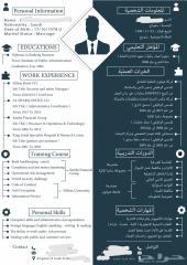 CV باللغة العربية والإنجليزية