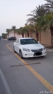 هوندا اكورد (ابيض لؤلؤي) 2012 سعودي