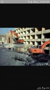 أعمال الهدم والحفر والردم وتأجير المعدات