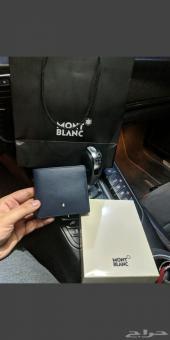 محفظه مونت بلانك كلاسيك كحلي