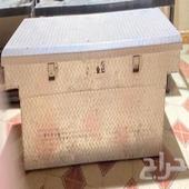 صندوق عزبة جمس سيرا سلفرادوا المنيوم مضلع نظيف جدا