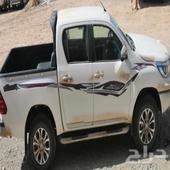 هايلوكس دبل سعودي بصمه فير عادي اخو الجديد ممشا 4000 فقط
