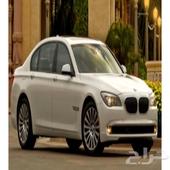 BMW 730 li بي ام دبليو أبيض 2011