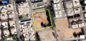 ارض للبيع على اربعة شوارع_مدينة جدة