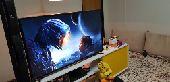 شاشة سامسونج 49 بوصة smart TV LED