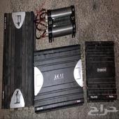 سستم سيارات مضخم الصوت اكاي 1200 واط جهاز منظم للصوت