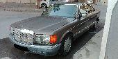 مرسيدس SEL 560 موديل 1989