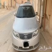 -السيارة  كيا - سيراتو -2012مشي. 400 كيلو