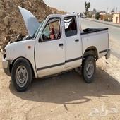 سيارة مصدومه للبيع تشليح ددسن 2013 غمارتين